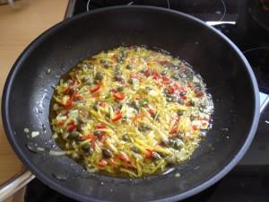 Spaghetti mit Kapern 13